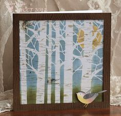 HYCCT1231 A Bird in the Woods by Cook22 - Cards and Paper Crafts at Splitcoaststampers