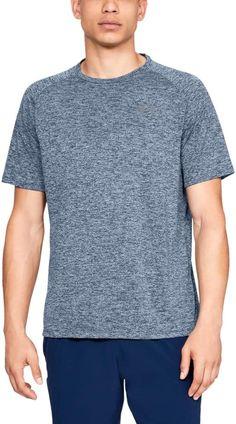 Amazon.com: Under Armour Men's Tech 2.0 Short-Sleeve T-Shirt , Academy Blue (409)/Steel , 5X-Large: Clothing Under Armour Herren, Under Armour Men, Mens Running Shirts, Element T Shirt, Tech T Shirts, Sun Shirt, High Intensity Workout, Crew Shirt, Mens Tees