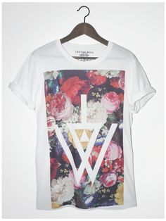 Painted Floral Logo Tee - Last But Won