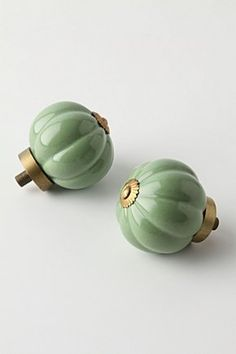 knobs - kitchen and laundry room