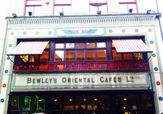 Bewley's Café Grafton Street is a unique landmark in Dublin and has played an essential part in the literary, cultural, artistic, architectural and social life of Dublin since it opened in Irish Breakfast, Grafton Street, Irish Traditions, Open Your Eyes, Dublin, Four Square, Ireland, Places To Visit, Architecture