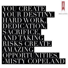 Misty Copeland Her Agenda interview