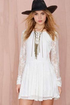 For Love and Lemons Lola Lace Dress - Clothes