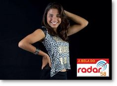 Cheia de charme, a Bela do Radar é teixeirense, mora em Alcobaça e assina Bomjardim