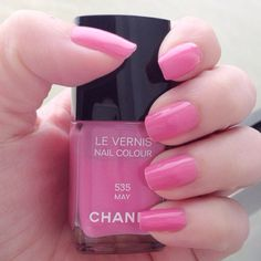My pinky Chanel nails