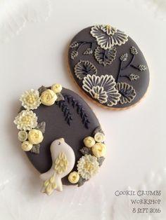 フラワーボックスのアイシングクッキーの画像 | ~Cookie Crumbs~クッキー・クラムズのアイシングクッキー
