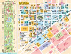 SF shopping map