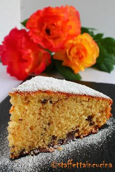 Torta di marzapane e cioccolato - Marzipan and Chocolate Cake