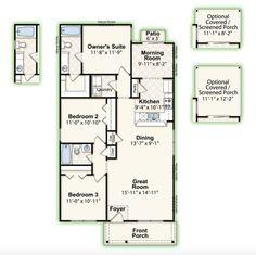 MILLSTREET || Square Feet: 1,306 || Bedrooms: 3 || Full Baths: 2