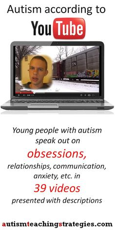 Autistic people and their fascinations, obsessions and imagination.