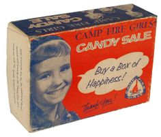 I sold so many boxes of this candy when I was a Campfire Girl!