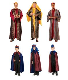 wise men Nativity Costumes, Christmas Costumes, Christmas Crafts For Kids, Christmas Projects, Bethlehem Inn, Biblical Costumes, Wise Men, Play Ideas, Teaching Music