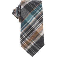 Wool plaid tie by Eton. Hubert-White-1916.tumblr.com