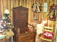 Vintage Gallery - Vintage Charm Decor. Christmas decorations.