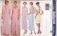 WOMEN'S SEWING PATTERN  Butterick 5366 Easy Dress by retrochick66, $6.75