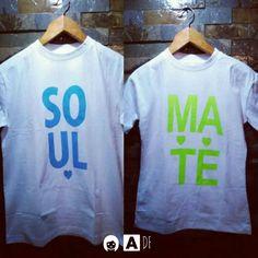 """DF SOULMATE = Alma Gemela  """"Personalidad"""" ✔Franela: Dama y Caballero ✔Color: Blanco. ✔Estylo: Casual/Sport ✔Tipo: Parejas / Mejores Amig@s  ✔100% Algodón. ✔Precio: Adultos 6500// Niños 6000. ▶Toda la Info por privado . ▶Envios a todo él territorio Nacional   #adf #StyleAdf #styleadf #instagram #instalike #instagood #instasize #instapic #like4like #likeforlike #megustapormegusta #picoftheday #preblackfriday #tagsforlikesi #100likes #likelike #likeforme #venezuela #ccs #caracas #chacao"""