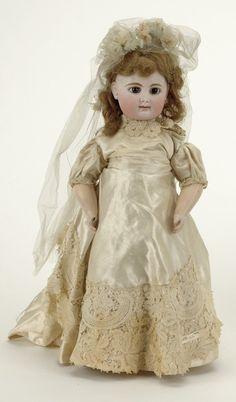RD bebe dressed as bride