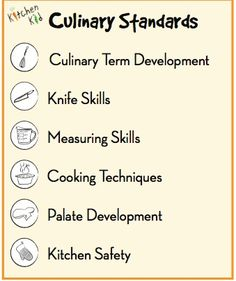 example of syllabus for high school cooking class - Google Search