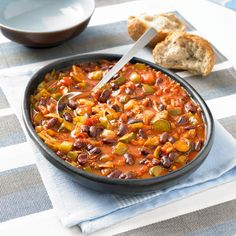 Bring a taste of Mexico into your life! Brighten up a grey day with this colourful, hot and spicy veggie dish. Serve with boiled rice, bread or just eat on its …