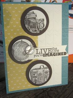 Stampin' Up!,Traveler,Really Good Greetings,Lullaby Designer,Arrows folder www.carolpayne.stampinup.net