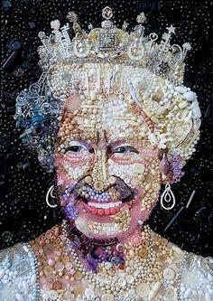 Kate Kelleher: Happy happy Jubilee! Artwork by Jane Perkins found via shinyslingback. 2 of 2.