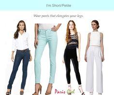Style Tips For Short or Petite Women ← Paris Ciel - EN. Great tips!