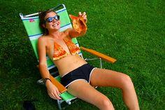 pizza slice bikini