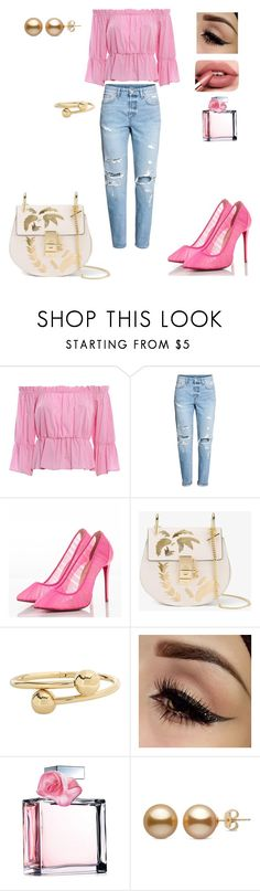 """Untitled #33"" by dedic-elvira ❤ liked on Polyvore featuring Dondup, H&M, Christian Louboutin, Chloé, J.W. Anderson and Ralph Lauren"