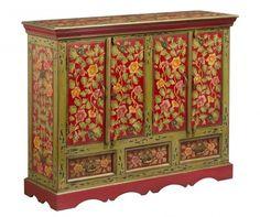 Bufet inferior Frida Deco Boheme, Oriental, Storage, Furniture, Home Decor, Mango Tree, Home, Woodwind Instrument, Purse Storage