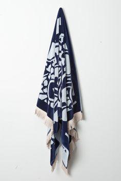 Karen Walker beach towel