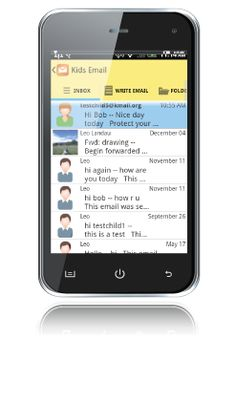 Email for kids (can be used on iPhone/iPad, Android devces and Kindle)