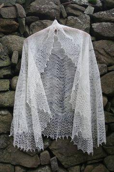 Eva shawl  http://www.shetlandwoolbrokers.co.uk/epages/BT2741.sf/en_GB/?ObjectPath=/Shops/BT2741/Products/%22Kit%20-%20Eva%20Shawl%22