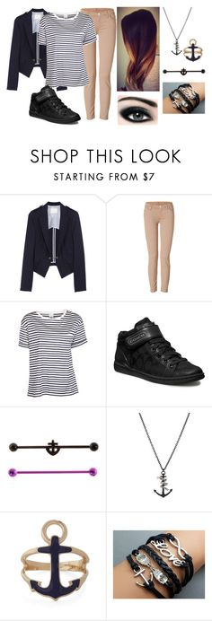 """Mila Kunis Inspired outfit from the movie TED with accessories that I added"" by rocketsheep ❤ liked on Polyvore featuring Band of Outsiders, 7 For All Mankind, AR SRPLS, Hot Topic, Max Factor, milakunis, sleepingwithsirens, sws and ted"