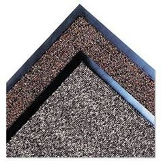Crown Classic Berber Wiper Mat, Nylon/Olefin, 48 x 72, Brown by CROWN MATS AND MATTING. $83.59. 17. Keep your home and office free from outside moisture. These indoor mats feature premium crush- and soil-resistant Olefin loop pile fibers that retain moisture and dry quickly. Solid vinyl back helps keep mat securely in place. Designed for heavy- to medium-traffic areas. Mat Type: Wiper Mat; Application: Indoor; Material(s): Nylon;Olefin.