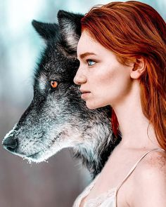 Claire Luxton Her Amazing Portraiture Fantasy Photography, Creative Photography, Portrait Photography, Wolves And Women, Wolf Girl, Belle Photo, Animals Beautiful, Beautiful Eyes, Character Inspiration
