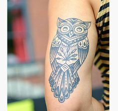 12 Amazing Owl Tattoos Ideas