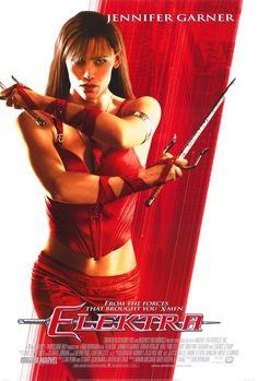 Elektra. Película de acción del año 2005, dirigida por Rob Bowman. Está basada en un personaje de la película Daredevil (2003). El personaje central es Elektra Natchios (Marvel Comics) representado por la actriz Jennifer Garner.