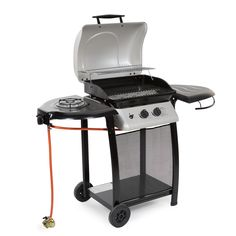 149 asda uniflame 4 burner side gas barbecue from our. Black Bedroom Furniture Sets. Home Design Ideas