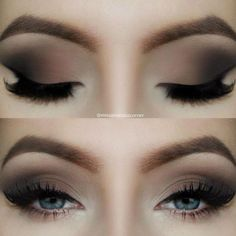 Brown Matte Smokey Eye Tutorial is up on my youtube channel: www.youtube.com/...: