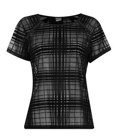 Gina Tricot -Sanna w topp see through