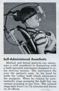 "Just the thing for the modern office. [""Designed to relax nervous tension.""] 1952."
