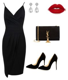 """Seductress"" by cristal-munoz-logothetis on Polyvore featuring Yves Saint Laurent and Kenneth Jay Lane"