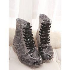 Fashion Style Lace 3.5 Cm Captivating Cheap Women Boots