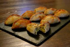 Recipe: Leek, Blue Cheese & Brussels Sprout Mini-Pasties - The Veg Space Minced Beef Recipes, Mince Recipes, Vegetarian Canapes, Vegetarian Recipes, Brussels Recipe, Tray Bake Recipes, Frozen Puff Pastry, Carrots And Potatoes, Sprout Recipes
