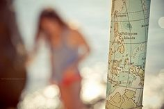 take photo of map of where you are while you're there..