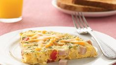 Betty Crocker's Heart Healthy Cookbook shares a recipe! Looking for a one-pot bacon skillet? Then check out this great frittata perfect for breakfast.