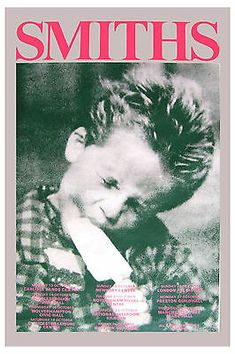 the Smiths poster The Smiths, Concert Rock, Poster Wall, Poster Prints, Art Print, Punk Poster, Gig Poster, Arte Punk, Rock Band Posters
