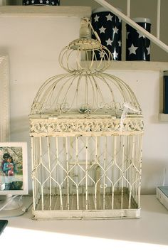 vintage cage by greta♥loves, via Flickr