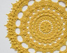Crochet doily pattern LIV, Instant download