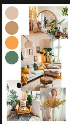 Boho Living Room, Living Room Decor, Retro Living Rooms, Living Room Colors, Cozy Living Rooms, Interior Design Living Room, Living Room Designs, Colorful Bedroom Designs, Interior Design Color Schemes